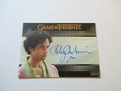 Game of Thrones Season 7 - Toby Sebastian as Trystane Martell Autograph Card