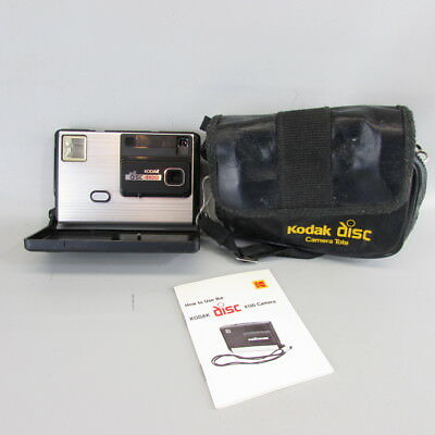Kodak Disc 4100 Camera With Instruction Booklet case Ships Free