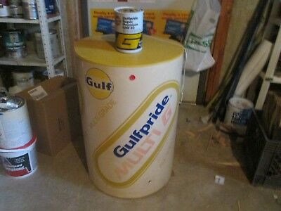 Gulf Oil Guilfpride Multi  G  Oil Can  Inflatable