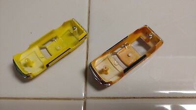 ho slot cars Ford Mustang Boss 302 & Mach 1 Body shells