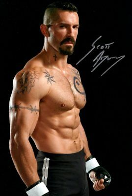 SCOTT ADKINS signed Autogramm 20x30cm BOYKA in Person autograph EXPENDABLES COA