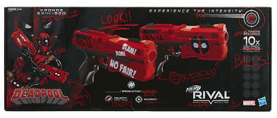 Nerf Rival Deadpool Kronos XVIII 500 Dual-Pack (2x) NEW, UNOPENED, COLLECTABLE