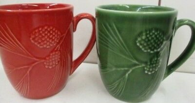 Lenox Rustic Berry and Rustic Pine Mugs One of Each