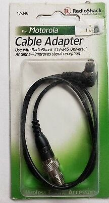 New Antenna Cable Adapter by Radio Shack for Motorola V120 T193 120T 17-346