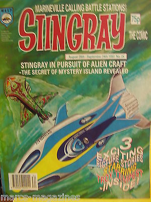 Stingray Magazine # 24 Sep 1993 Marina Girl Of The Sea Captain Troy Tempest Wasp