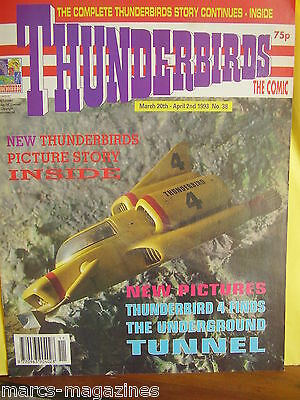 Thunderbirds Are Go International Rescue 1993 # 38 Thunderbird 4 Finds  Tunnel