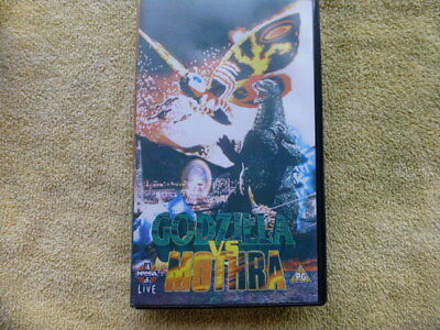 MANGA VIDEO - Godzilla vs  Mothra VHS Dubbed in English