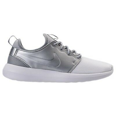1f6c1bb2f22a nike Roshe Two 2 II White White Metallic Silver US MENS SIZES 844656-100