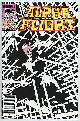 **alpha Flight #3Mj**(Oct 1983, Marvel)**mark Jewelers Variant**scarce**nm+**wow
