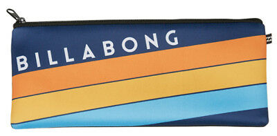 New + Tag Billabong Large Neoprene Pencil Case Uni Northpoint (Fits 30Cm Ruler)