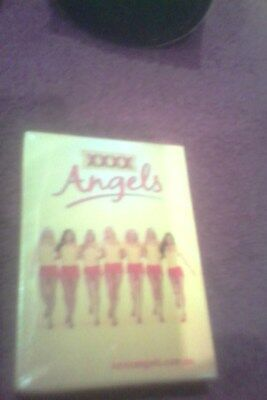 mib still sealed xxxx gold angels playing cards (deck of cards)