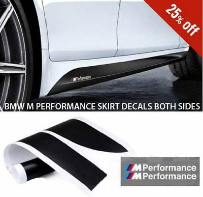 BMW F32 4 SERIES COUPE M Performance Side skirt sills stickers Decals Vinyl