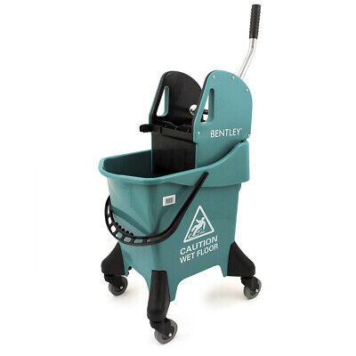 Professional Cleaning Set 20L Yellow Kentucky Mop Bucket + Free Wet Sign