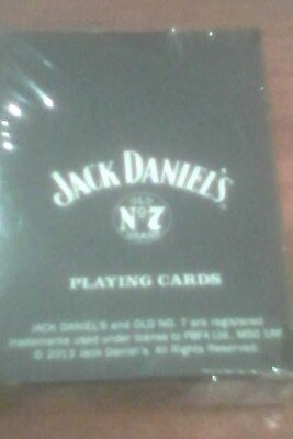 jack daniels playing cards (sealed from uk)