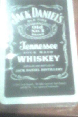 jack daniels playing cards (sealed no box) made in belguim