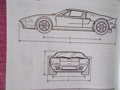 Ford Gt   Owners Manual User Guide Handbook