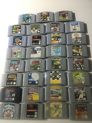 Nintendo 64 Games Pal Lot 2