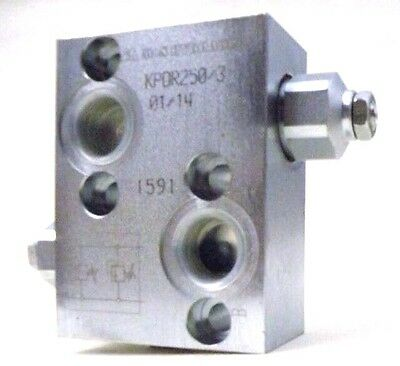 Dual Cross Line Relief Valve for MP, MR Series Hydraulic Motors G1/2