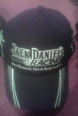 jack daniels racing cap (type 7)- todd and rick kelly stitched signatures
