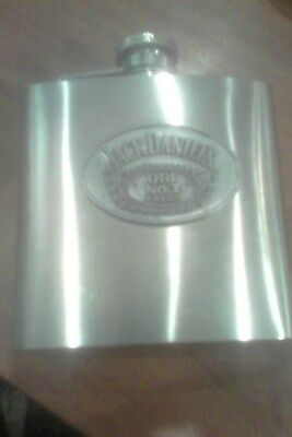 jack daniels 6oz stainless steel flask