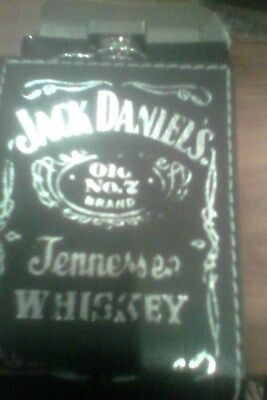 jack daniels 6oz stainless steel flask round base