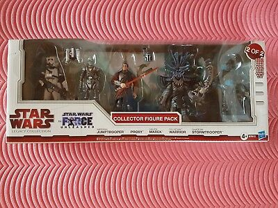Star Wars Legacy Collection The Force Unleashed Figure Pack OVP Neu / komplett