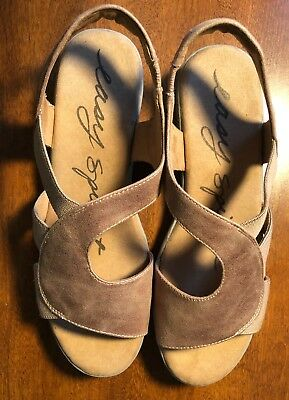 Easy Spirit Kalayla Wedge Sandals Tan BRAND NEW W's Size 8.5 W MSRP $79