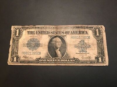1923 Silver Certificate Large Size Horse Blanket  H88