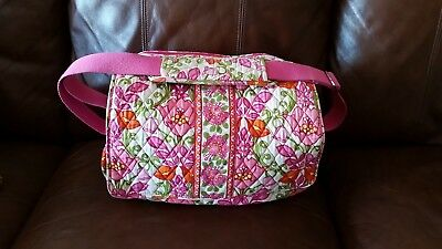 Vera Bradley Lilli Bell diaper bag messenger baby bag with changing pad