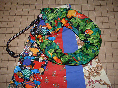 New Stethoscope Cover Set Of 5 Assorted Prints Handmade Clearance