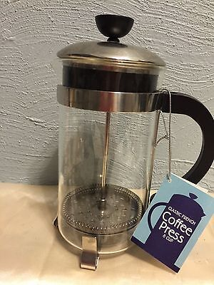 French Press Coffee Tea Maker Complete Bundle 8 Cups 34 Oz Best