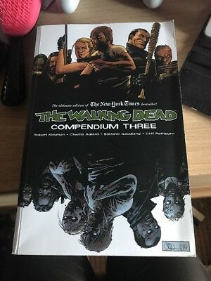 UNREAD The Walking Dead Compendium 3, collects issues 97-144