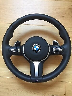 Bmw X5 F15 M Sport Complete Steering Wheel With Paddle Shifters Multifunctional