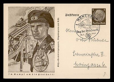 Dr Who 1941 Germany Postcard Fdc Stationery C22440