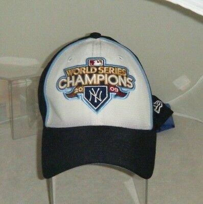 aa747fa6663 NEW YORK YANKEES 2009 World Series Champions Baseball Cap MLB ...