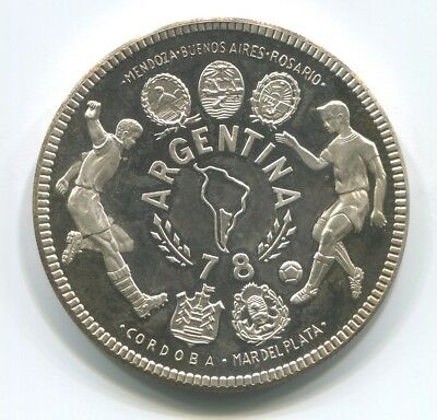 Equatorial Guinea 2000 Ekuele Nd (1978) Soccer World Cup Argentina Silver Proof