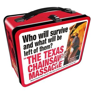 Texas Chainsaw Massacre NEW * Metal Lunchbox Tote * Tin Lunch Box Horror Movie