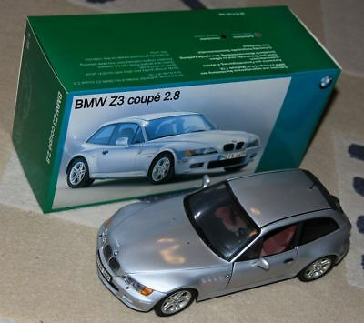 UT Models BMW Z3 Coupe 2.8 1:18 mit OVP Silber