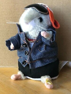 Gemmy Animated Dancing Hamster Phat Daddy Mac Rapper's Delight - working