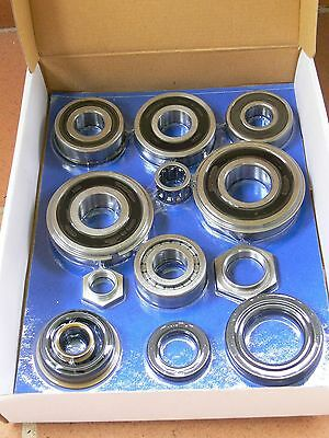 Ford Courier / Mazda Bravo Sump Type 4WD Gearbox Bearing Overhaul / Rebuild Kit