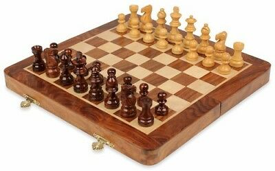 Portable Chess board with Bagamon and magnetic (14*14 Inches)