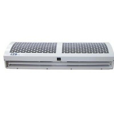 Air curtain - 1200mm remote control 2 speeds, Off White