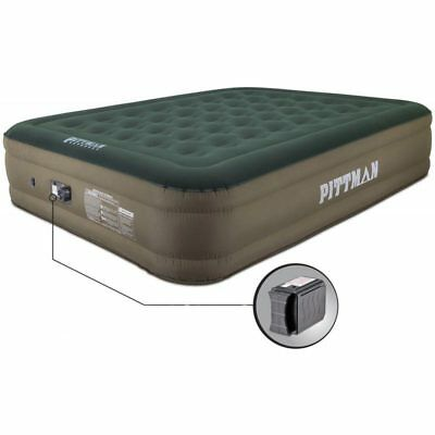 PPICAMPX16 Pittman Queen Fabric Ultimate 16 Air Mattress Built in Rechargeable