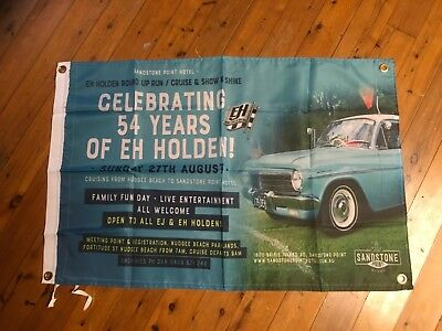 Poster mancave flags shed poolroom EH HOLDEN GMH HK EK torana  wall hanging