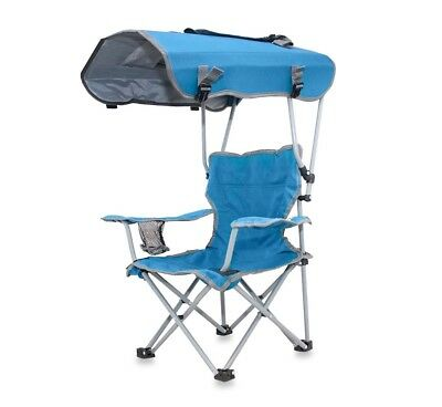 Super Kids Folding Camping Beach Chair With Canopy Outdoor Sun Pdpeps Interior Chair Design Pdpepsorg