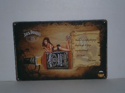 JDGMS1 Jack Daniel's Old No 7 Brand Metal Sign 20 cm H X 30 cm W New