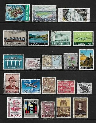 ICELAND mixed collection No.2, used