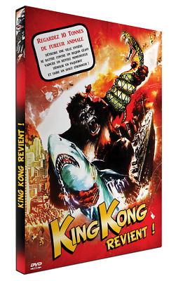 "DVD DIGIPACK NEUF ""KING KONG REVIENT"" Bob ARRANTS, Alex NICOL / Paul LEDER"