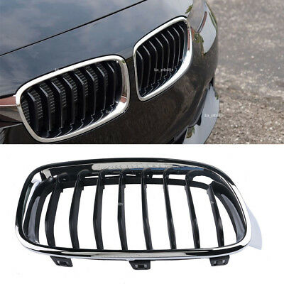 For BMW F30 F31 3 Series Sport Line Package Kidney Grill Grille Chrome Frame