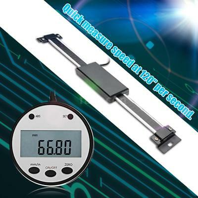 Digital Linear Readout Scale Ruler Vertical Size Optional 0.01mm Magnetic O4G3